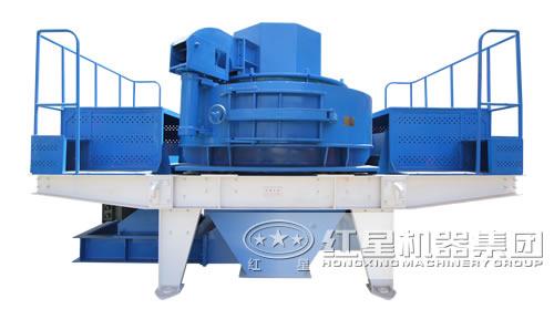 蓝色制砂机产品图片