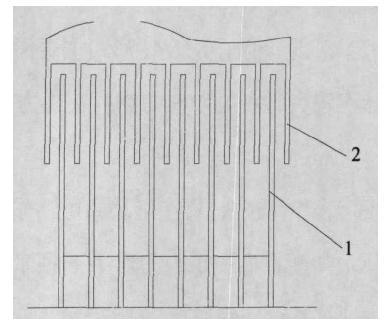 动刀和定刀装配结构图