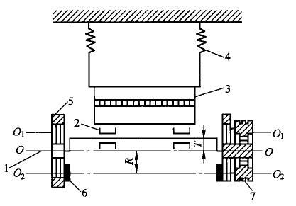 自定义中心振动筛工作原理图